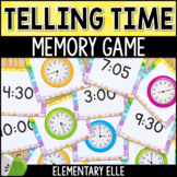 Telling Time Memory Match {Math Mini-Center}
