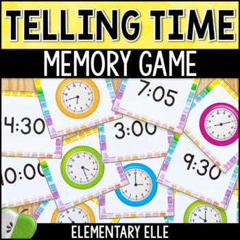 Telling Time Memory Match {Math Mini-Center}