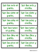 Telling Time Memory game in SPANISH