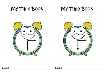 Telling Time Mini Books