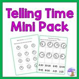Telling Time Mini Pack