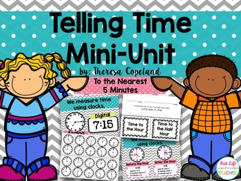 Telling Time Mini-Unit {To the Nearest 5 Minutes}