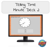 Telling Time- Minute Deck 2 Boom Cards!