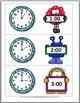 Telling Time to the Hour & Telling Time to the Half Hour - Monster Math
