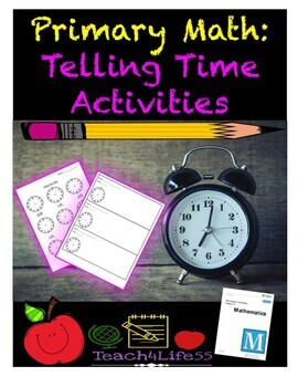 """Telling Time: """"My Day"""" Event Timeline"""