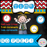 Telling Time NO PREP!