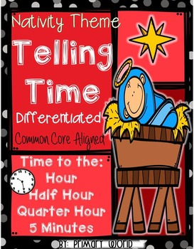 Telling Time Nativity Theme