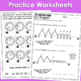Telling Time (Nearest Minute & Elapsed Time) Interactive Notebook & Worksheets
