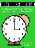 Telling Time {No Prep}