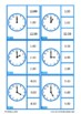 O'Clock & 30 Past, Telling the Time Clip Cards, Autism Special Ed, Life Skills