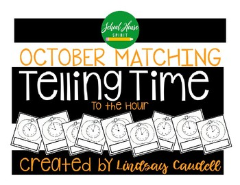 Telling Time - October - To the Hour