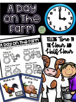 Telling Time On The Farm