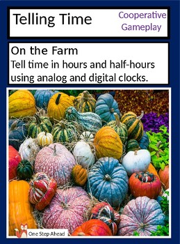 Telling Time - On the Farm  (A Cooperative Gameplay Game)