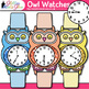 Telling Time Clock Clip Art Every 5 Minutes {Measurement Tools For Math}