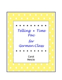 Telling Time * Pac For German Class