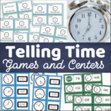 Telling Time Activities and Games