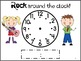 Telling Time Packet {activities to practice hour & half hour}