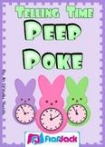 Telling Time Peep Poke