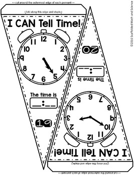 Telling Time Pennant