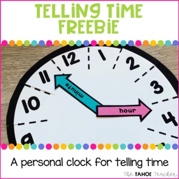 Telling Time Personal Clock