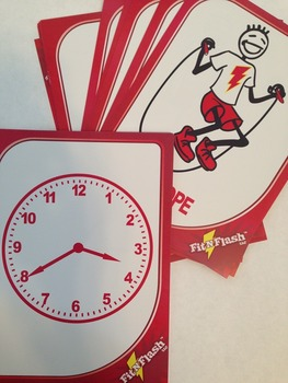 Telling Time -Physical Activity Break Cards