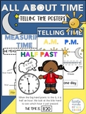 Telling Time Posters