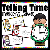 Telling Time - PowerPoint Games Bundle