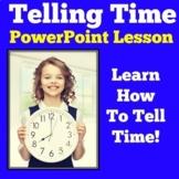 Telling Time | Kindergarten 1st 2nd 3rd Grade PowerPoint Activity