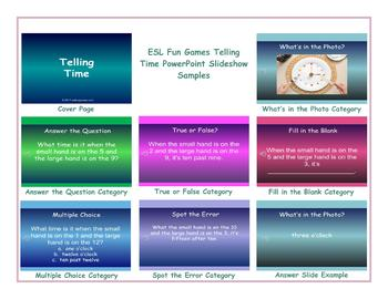 Telling Time PowerPoint Slideshow