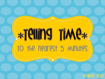 Telling Time Powerpoint