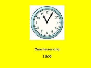 Telling Time Powerpoint Practice