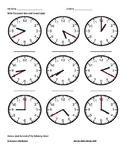 Telling Time Practice Handout