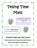 Telling Time Practice Mat