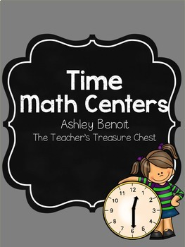Telling Time Math Centers