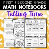 Math Notebooks: First and Second Gr Telling Time