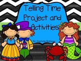 Telling Time (Project Based Learning, 5 Minutes, Elapsed)
