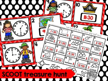Telling Time Projectable Math Lessons and Printables