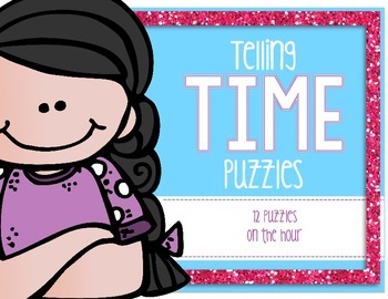 Telling Time Puzzle Bundle [With QR Codes]