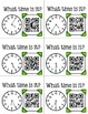 Telling Time QR Code Cards (to the half hour/hour, to 5 minutes, to the minute)