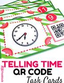 Telling Time QR Code Fun