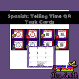 Telling Time QR Task Cards
