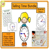 Telling Time Quarter Hour Bundle