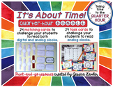 Telling Time Quarter-Hour Bundle