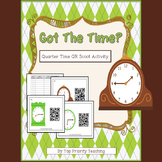 Telling Time Quarter Hour QR Scoot Activity