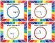 Telling Time Quarter-Hour Task Cards