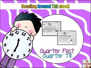 Telling Time Reading Stories-quarter till- quarter after