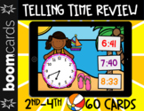 Telling Time Review   Hour, 1/2 Hour, Quarter-Hour, 5 & 1
