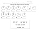 Telling Time Hour and Half Hour Worksheets