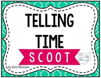 Telling Time SCOOT!