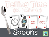 Telling Time SPOONS Game - 1 Minute